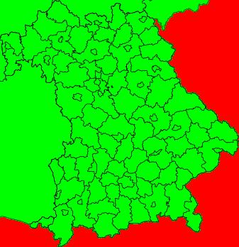 Aktuelle Unwetterwarnungen Bayern