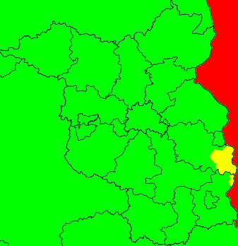 Aktuelle Unwetterwarnungen Brandenburg